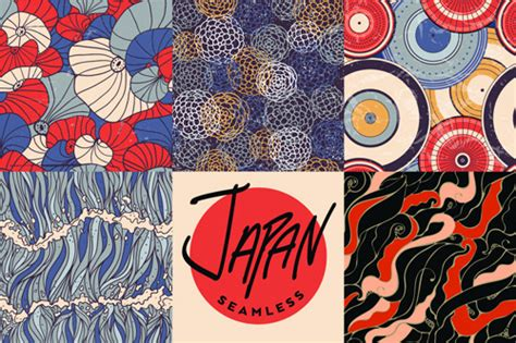 pattern sourcebook japanese style download japan style vector seamless pattern free vector in