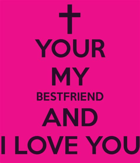 your best friend your my bestfriend and i you poster