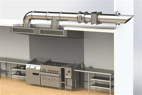 Kitchen Ventilation Design | kitchen ventilation design china electrostatic exhaust air