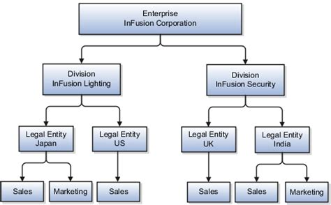 which of the following organizational entities within the operations section oracle fusion applications cost accounting and receipt