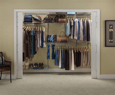 Closetmaid Organizer Kit Closetmaid Shelftrack 6 Ft 8 Ft W Closet Organizer Kit