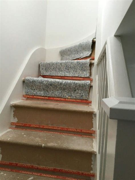 Which Carpet Underlay For Stairs - the underlay on the stairs carpet for stairs and