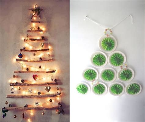indoor christmas decorations ideas diy christmas trees walls indoor decor ideas kvriver com