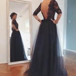 Dresses dresses for prom navy blue lace formal dresses n on luulla