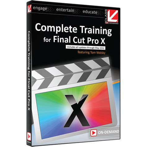 final cut pro zip download class on demand video download complete training 99918 b h