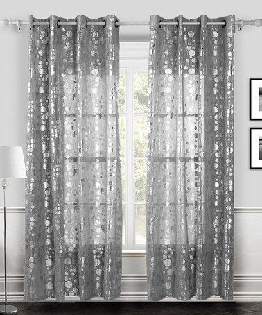 white and silver curtains white silver twinkle curtain panel set of two
