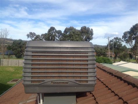 cost to install evaporative cooler on roof evaporative cooling installation price free