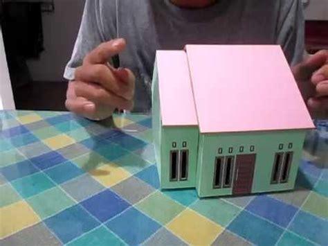 vidio cara membuat rumah dari kardus cara membuat miniatur rumah sederhana funnycat tv