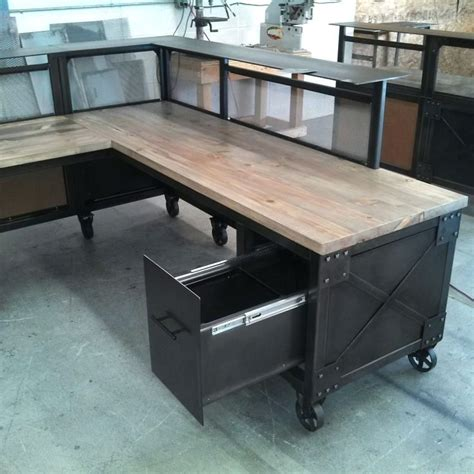 desk metal office desk used used steel office furniture
