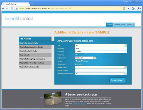 Design Jsf Application | screenshots metawidget