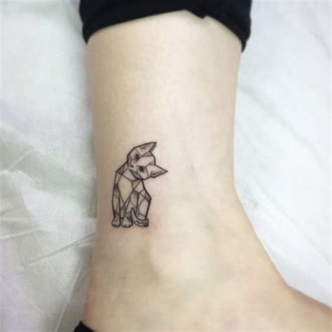 geometric tattoo tiny 50 meaningful geometric animals tattoos we handpicked for you