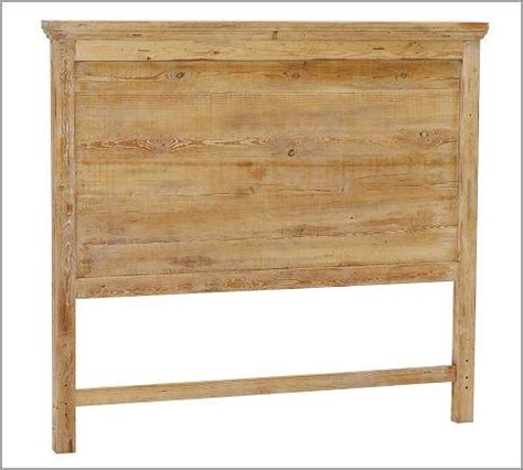 pine wood headboard pottery barn mason reclaimed wood headboard