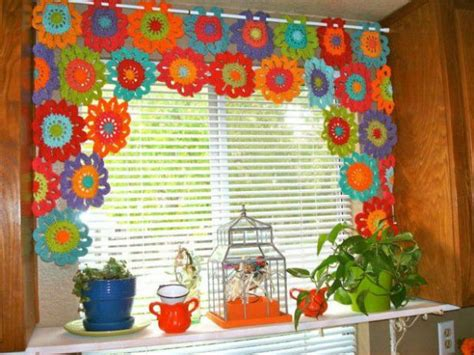 14 kitchen curtains beautiful crochet stuff