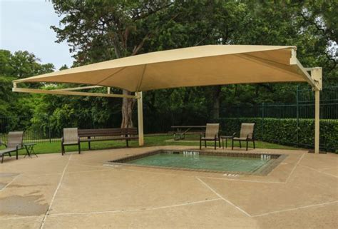 pool awnings canopies custom designed options for pool shade canopies austin