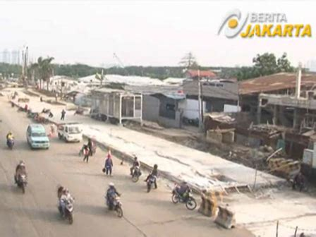 Meja Inspeksi Jalan Inspeksi Kali Mookevart Concreted Beritajakarta