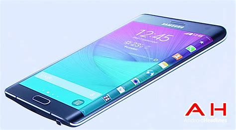 New Hp Samsung Note 4 Scoopy samsung s galaxy note edge launches in south korea
