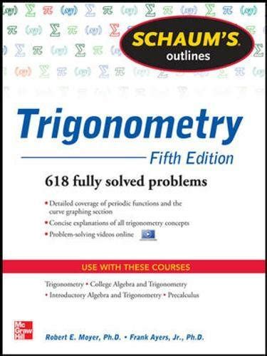 schaum s outline of trigonometry sixth edition schaum s outlines ebook nice n fast trusted by 617 amazon com customers in usa