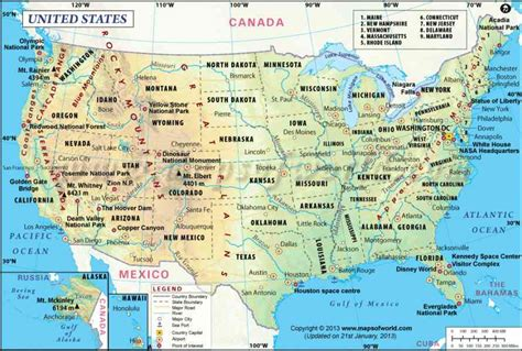 map usa geographical geography map usa holidaymapq