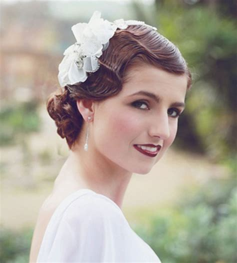 Vintage Bridal Hairstyles by 12 Vintage Wedding Hairstyles We