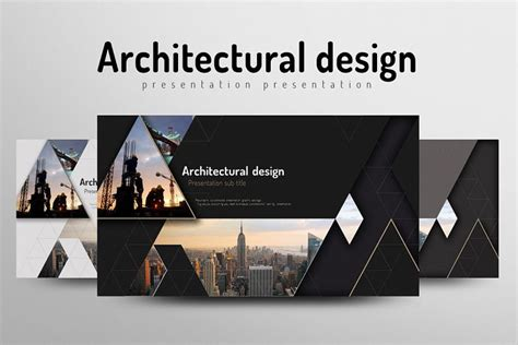 architecture presentation template architecture powerpoint template by goo design bundles
