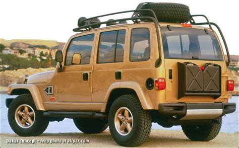 Jeep Concept Car Jeep Dakar And Jeep Icon Concept Cars 1997