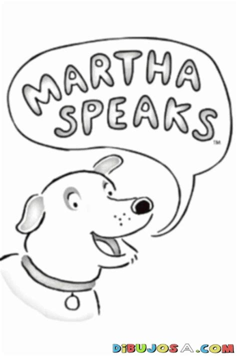 martha speaks coloring pages coloring home