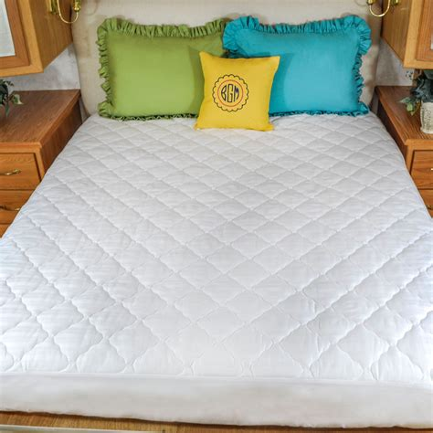 70 X 80 Rv Mattress by Ultima Plush Cotton Quilted Bed Mattress Pad Fitted 60x75