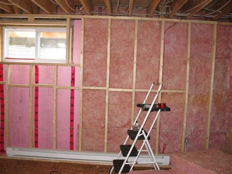 insulating concrete basement walls insulation products aerolite and isotherm insulation