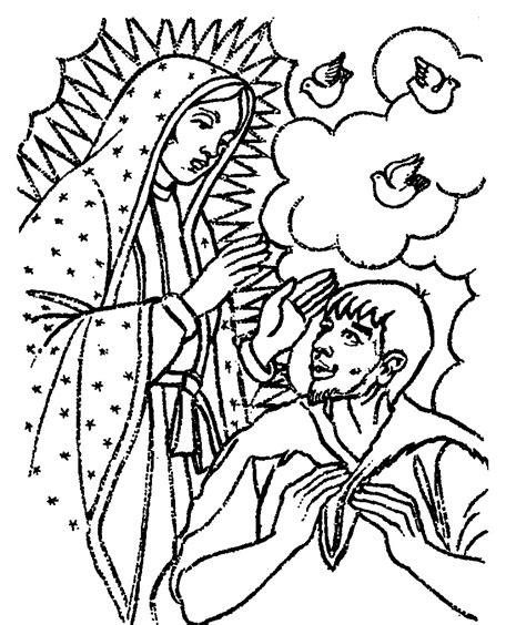 imagenes virgen de guadalupe blanco y negro tarjetas y oraciones catolicas virgen de guadalupe