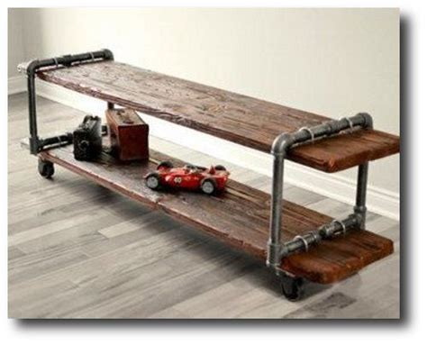 Plumbing Pipe Tv Stand by Make Your Own Vintage Industrial Cast Iron Pipe Table Tv