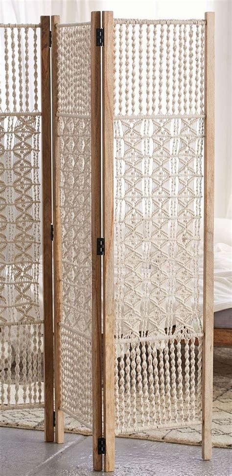 Macrame Room Divider Screens Magical Thinking And Macrame On Pinterest