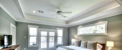 Update Popcorn Ceiling by Update Your Boring Ceiling With Tray Ceilings Using Decorative Tiles To Cover Popcorn Ceilings