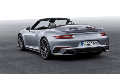 porsche cabriolet turbo 2016 porsche 911 turbo s cabriolet wallpapers hd