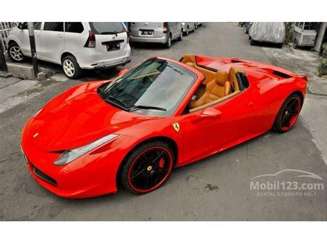 jual mobil 458 2012 spider 4 5 di dki jakarta automatic convertible merah rp 5 900 000