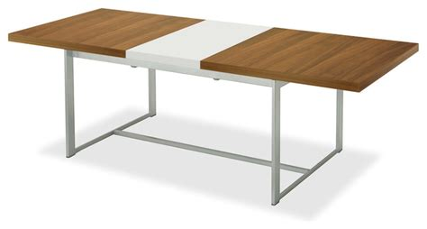 modern white rectangular dining table spice rectangular table walnut white modern dining