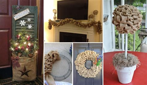 burlap home decor ideas 35 beautiful diy decorating ideas you could do with burlap