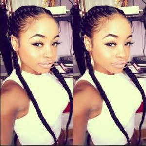 pigtail hair style images