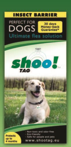 flea shoo for dogs shoo tag anti flea for dogs