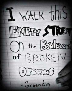 testo green day green day song lyrics boulevard of broken dreams