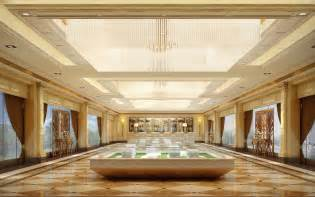 Bld Interior Design by Luxury Office Building Lobby Interior Design Rendering