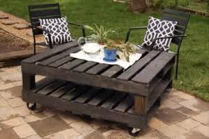 Diy Pallet Coffee Table Wheels Diy Pallet Coffee Table Wheels Favorite Spaces