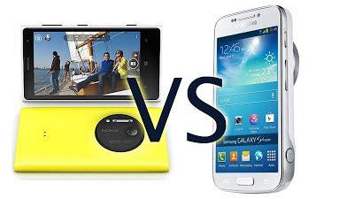 Hp Nokia Lumia Zoom adu spesifikasi nokia lumia 1020 vs samsung galaxy s4 zoom mana yang terbaik plus