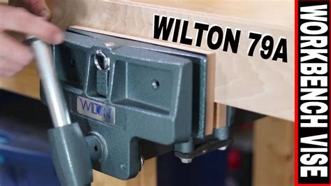 woodworker bench vise installation  review wilton  pivot jaw  youtube