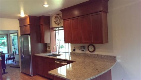 galley kitchen with peninsula galley kitchen with peninsula traditional seattle by