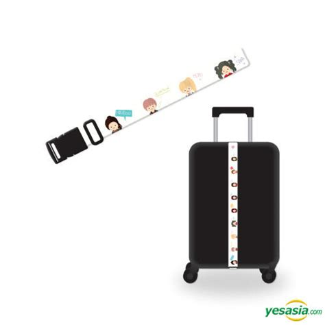 L Holder Once Begins yesasia fanmeeting once begins official goods character luggage belt photo poster