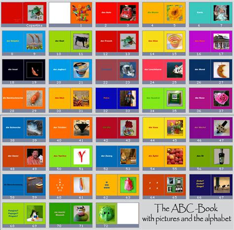 abc picture book spohn abc book