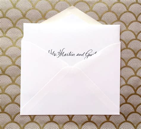 Wedding Invitations Envelopes Wording by Proper Wedding Invitation Envelope Wording Yaseen For