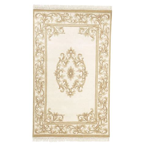 Rugs Home Decorators Collection by Home Decorators Collection Filigree Aubusson Gold 5 Ft 3 In X 8 Ft 3 In Area Rug 0845115530