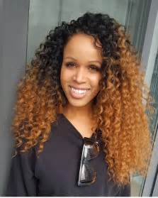 curly crochet hairstyles no leave out crochet braids by crownedbyd curly hair