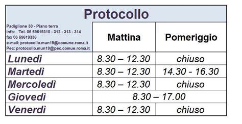 comune di ufficio protocollo roma capitale sito istituzionale protocollo